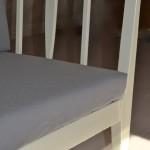 50tal Soffa vit omklädd orginalfärg