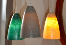 Glas fiber,pendant light.