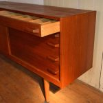 Teak Sideboard by Yngve Ekström for Troeds, 1950s SOLD
