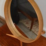 Wooden Framed Table Mirror by Uno & Östen Kristiansson for Luxus, 1960