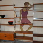 Continental Wall Unit by Nisse Strinning for String, 1950s SOLD