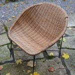 Mid-Century Swedish Child's Basket Chair