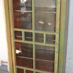 Swedish Glass & Pine Display Cabinet, 1989