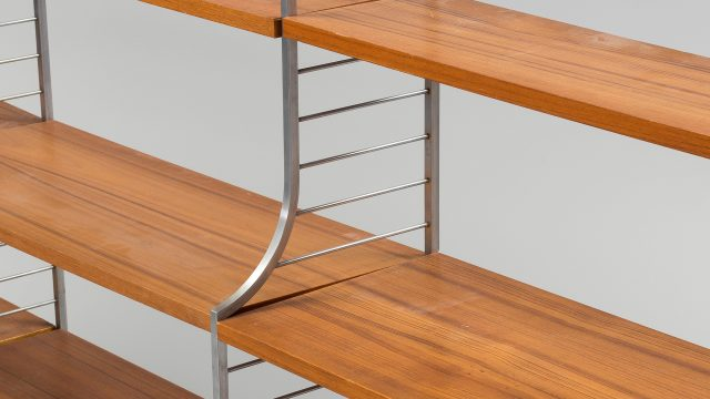 Continental Wall Unit by Nisse Strinning for String, 1950s