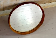 Luxus,Mirror,teak