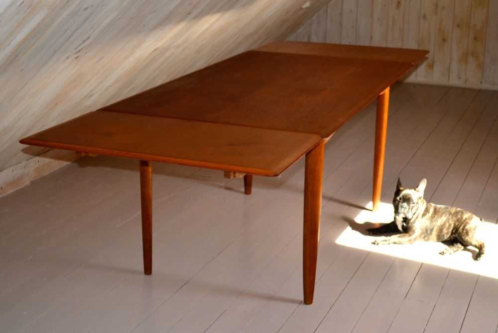 Ib Kofod Larsen Dining Table Lisas Retro Design