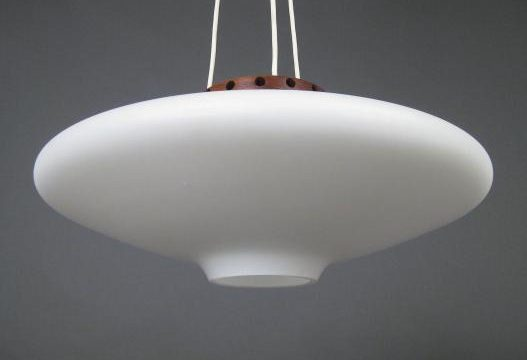 Pendant Lamp by Uno & Östen Kristiansson for Luxus, 1960s