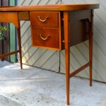 Mid-century Mahogany desk/ SOLD