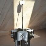 Taklampa Italian spacelamp Aluminium