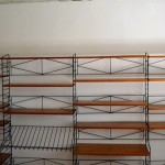 String shelf,teak/ SOLD