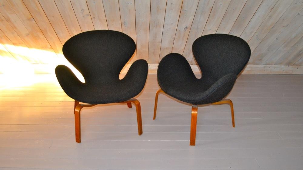 Arne Jacobsen Quot Svanen Quot 2 Lisas Retro Design