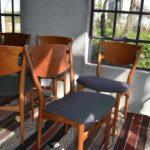 Model 42A Dining Chairs by Helge Sibast for Sibast, 1960s, Set of 8