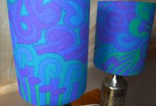 Glazed Ceramic Table Lamps by Bitossi for Bergbom, Set of 2