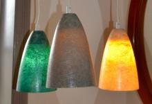 Glas fiber,pendant light.