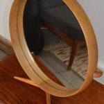 Wooden Framed Table Mirror by Uno & Östen Kristiansson for Luxus, 1960