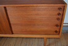 Swedish Teak & Oak Sideboard by Yngve Ekström for Hugo Troeds, 1950s