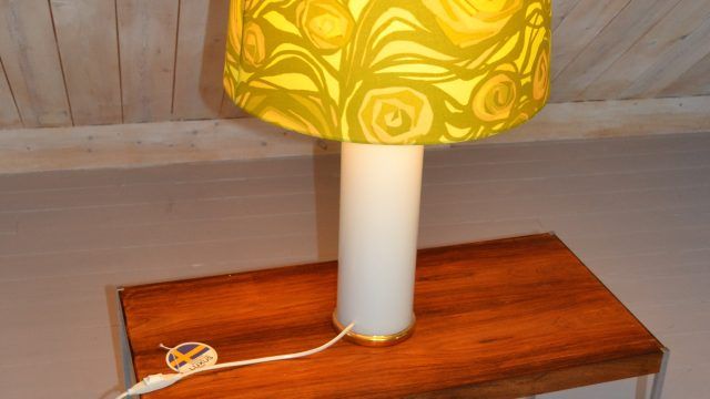 Swedish Table Lamp by Uno & Östen Kristiansson for Luxus, 1960s