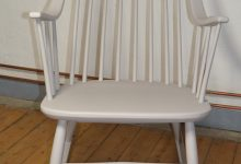 Vintage Swedish Rocking Chair by Lena Larsson for Nesto,50s.