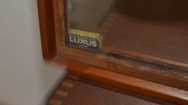 Mid-Century Teak Mirror and Cabinet by Uno & Östen Kristiansson for Luxus & Troeds