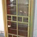 Swedish Glass & Pine Display Cabinet, 1989