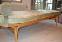 Berlin Laminated Beech Daybed by Bruno Mathsson for Firma Karl Mathsson, 1967