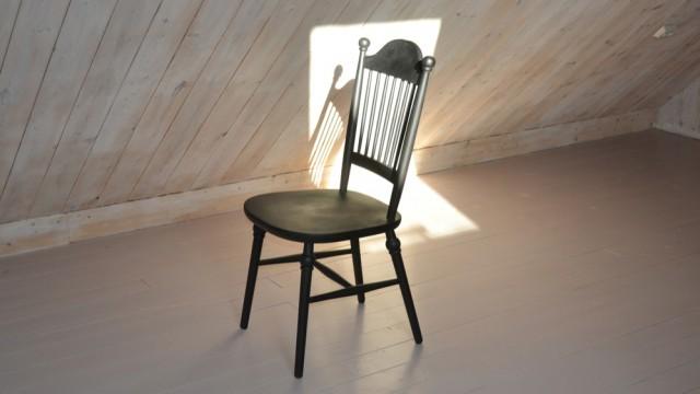 svartbetsade stolar. Nässjö stolsfabrik.